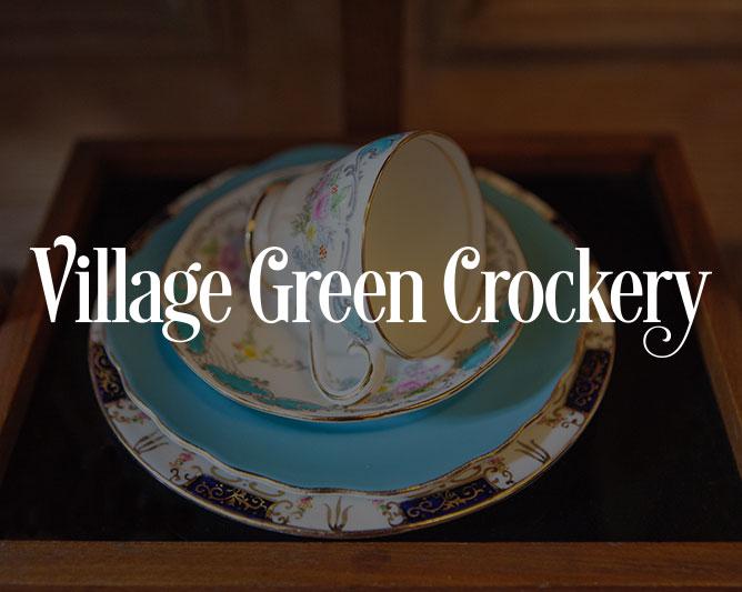 Village Green Crockery
