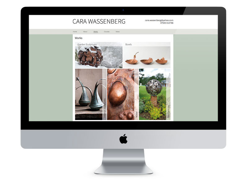 Cara Wassenberg Website