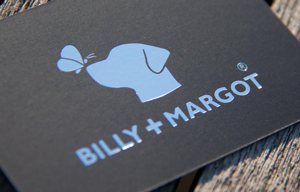 Billy + Margot Logo