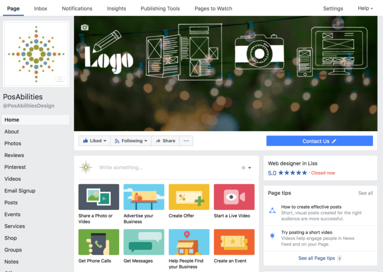 Getting started with your Business Page on Facebook