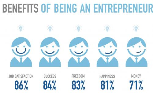 Reasons for being a start-up entrepreneur