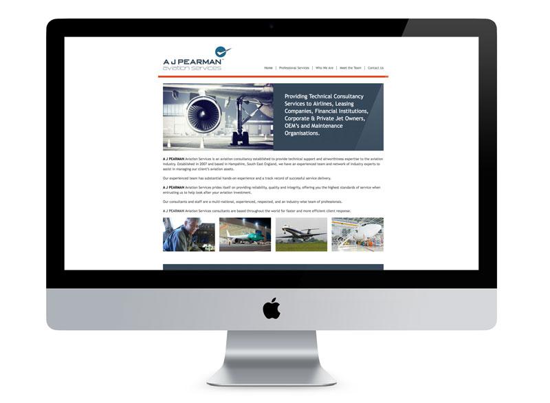 A J Pearman Website