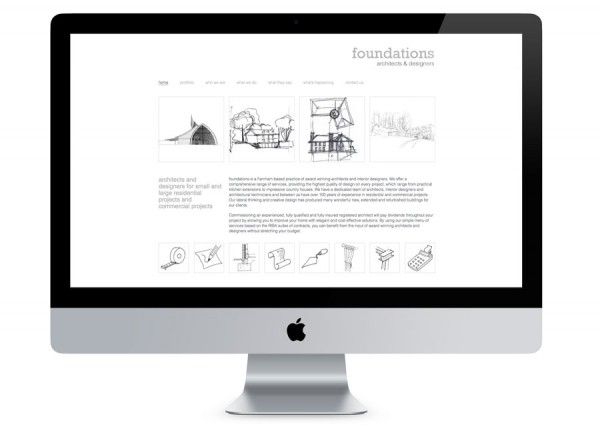 Foundations Architects Website