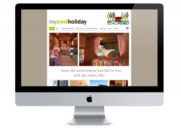 My Cool Holiday Website