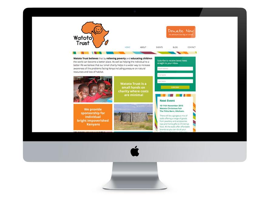 Watoto Trust Website