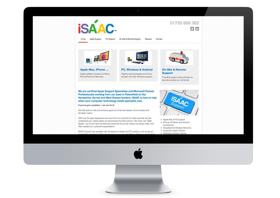 iSAAC Support Website