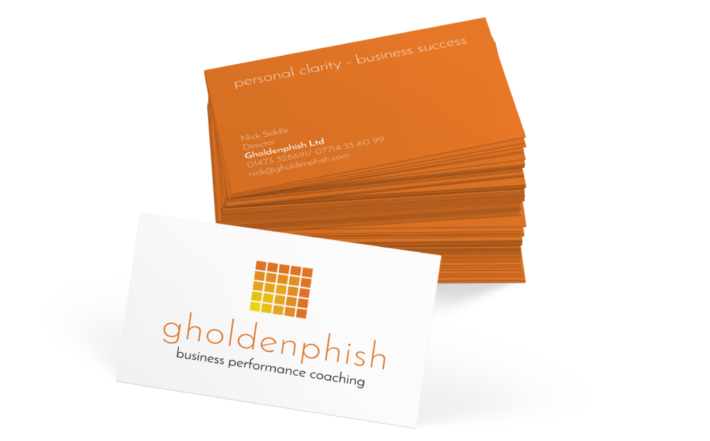 Gholdenphish Business Card