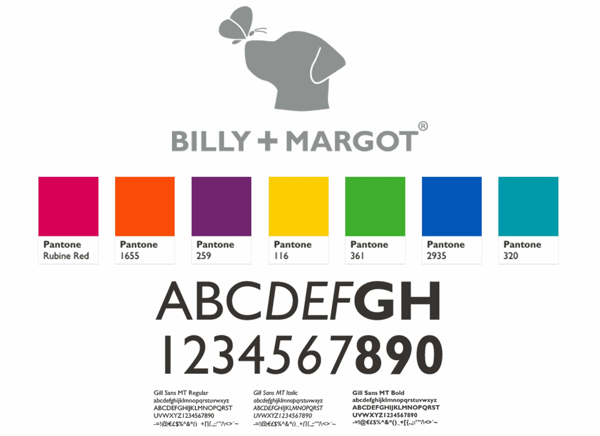 Billy +Margot Branding