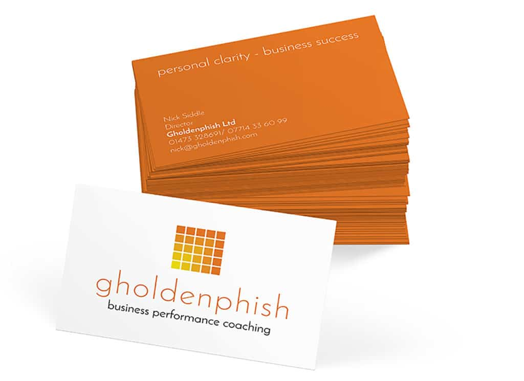 Gholdenphish Business Cards