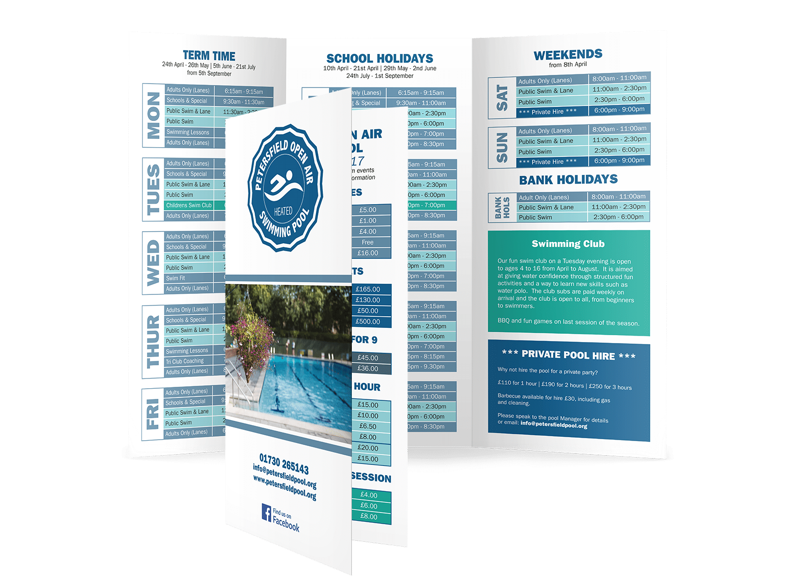 Petersfield Pool Brochure
