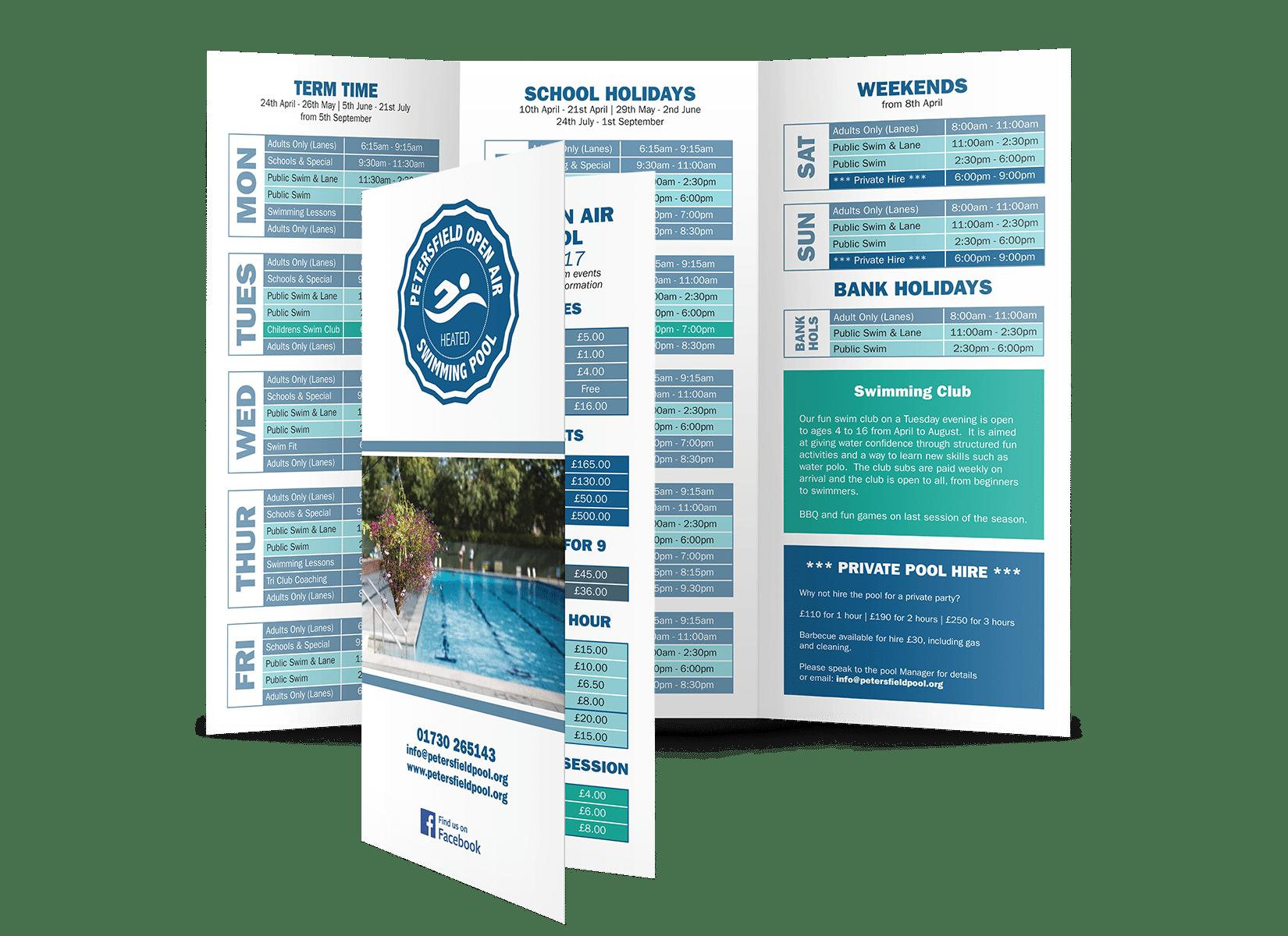 Petersfield Pool Brochure