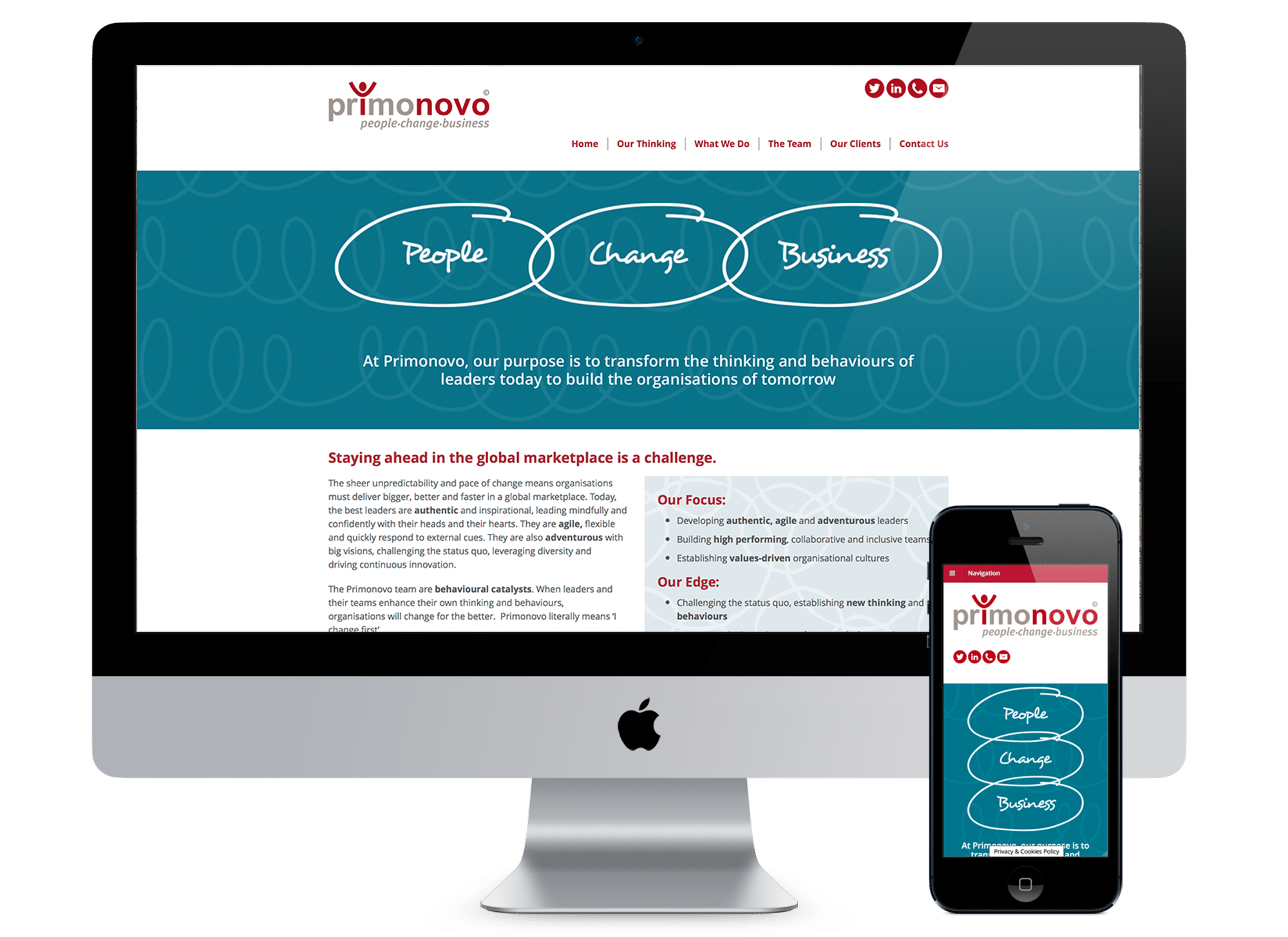 Primonovo Website