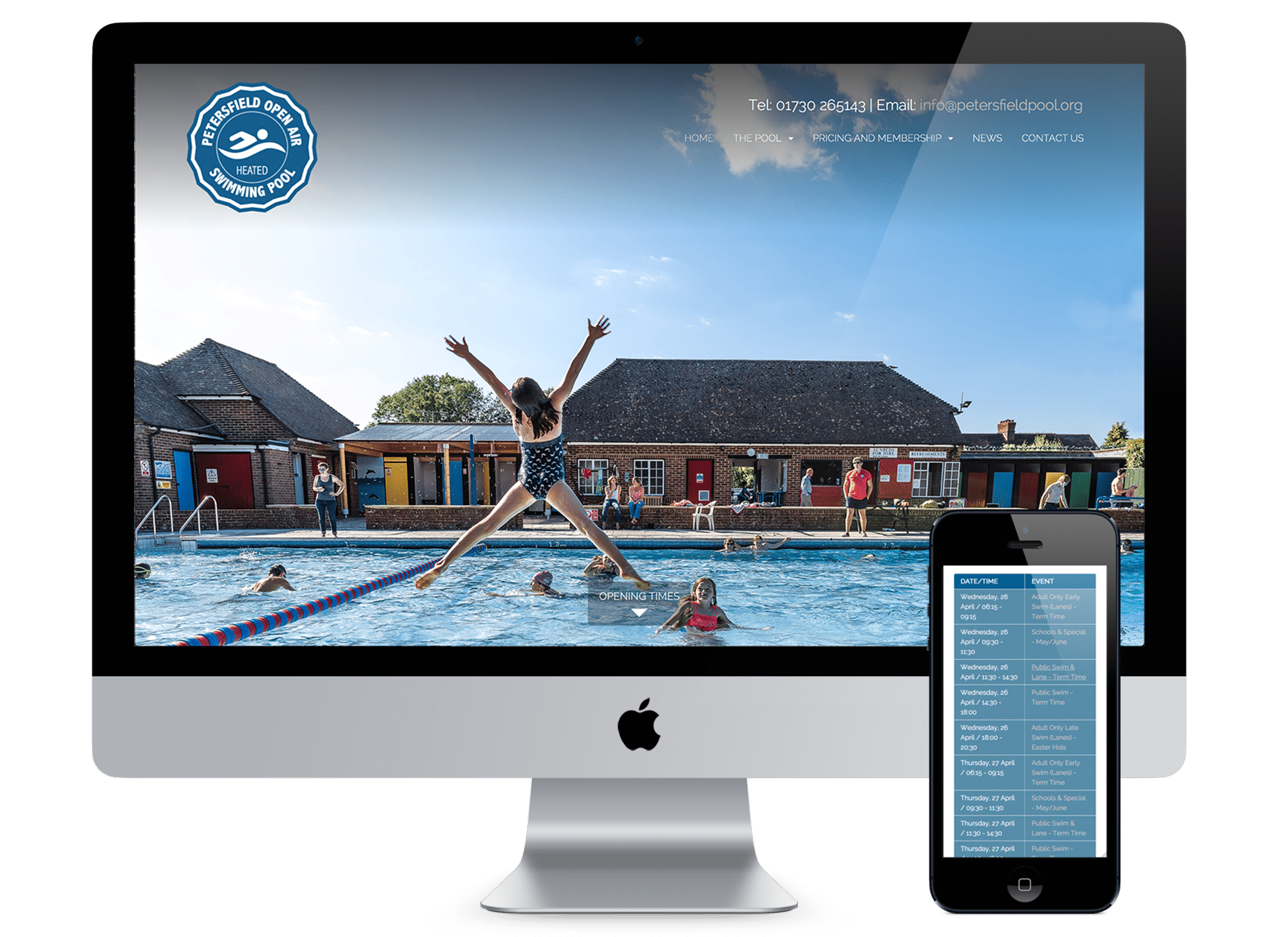 Petersfield Pool Website