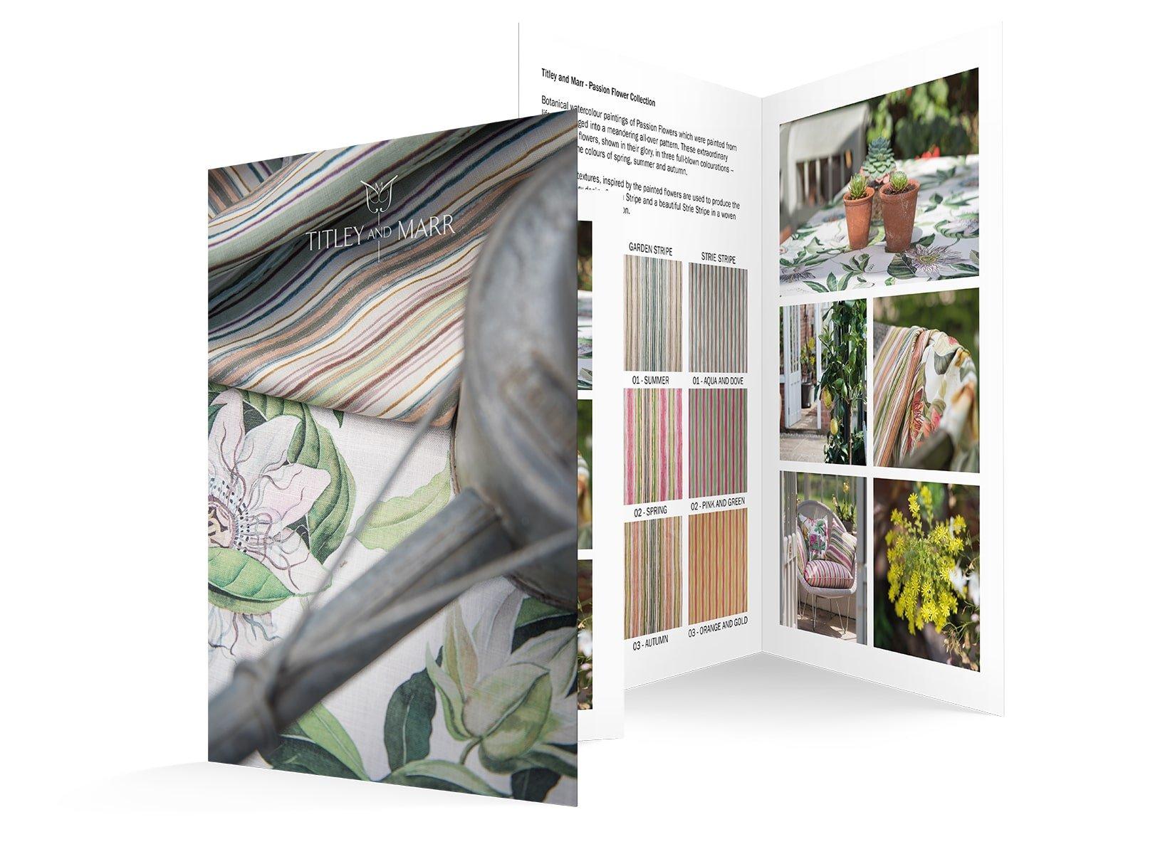 TM Pashion Flower Brochure Flyer