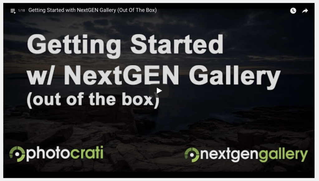 Getting Started with NextGEN