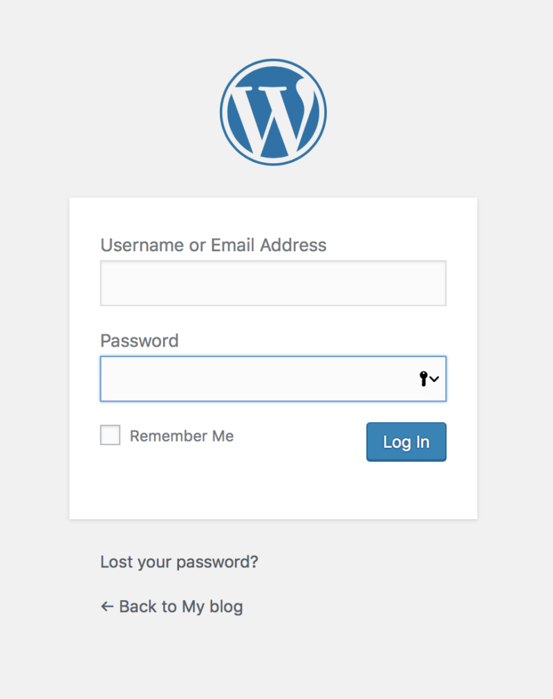 WordPress 4.8 Dashboard Basics