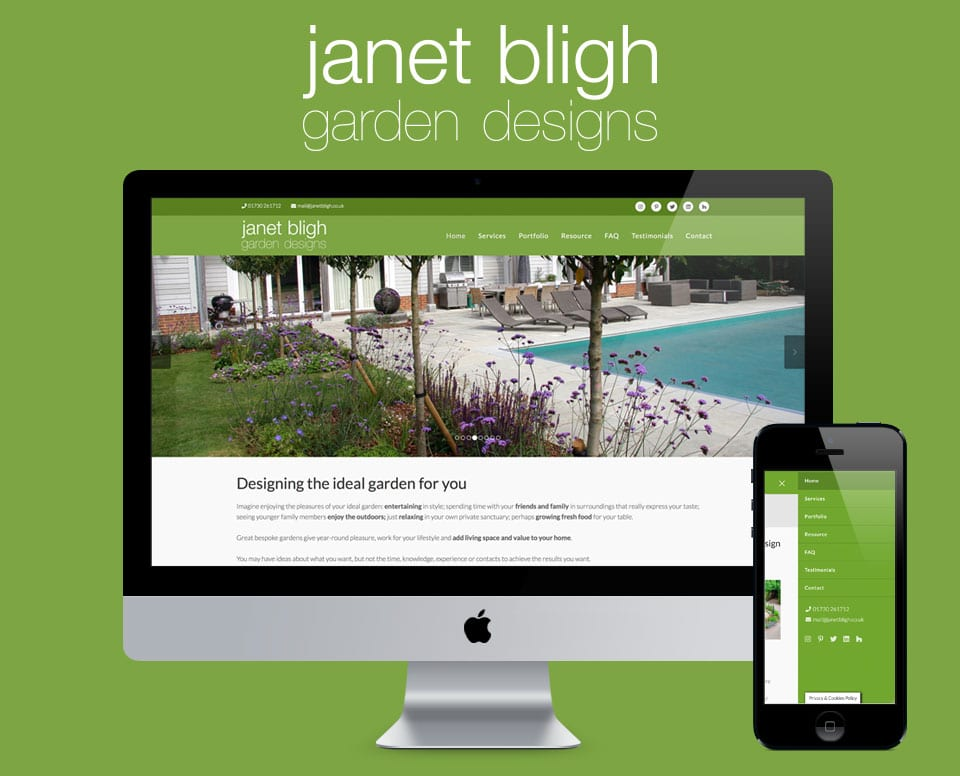 Janet Bligh Website