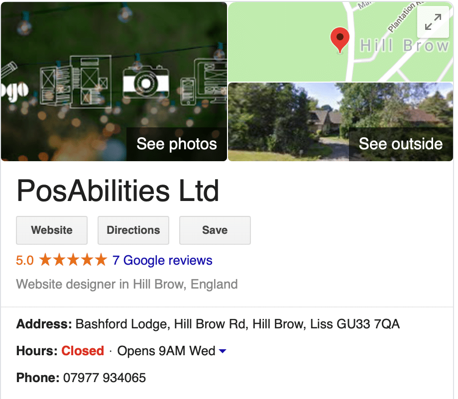 PosAbilities Google